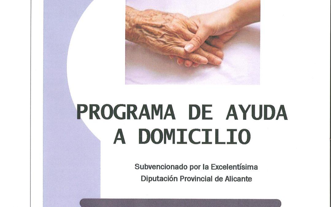 PROGRAMA DE AYUDA A DOMICILIO