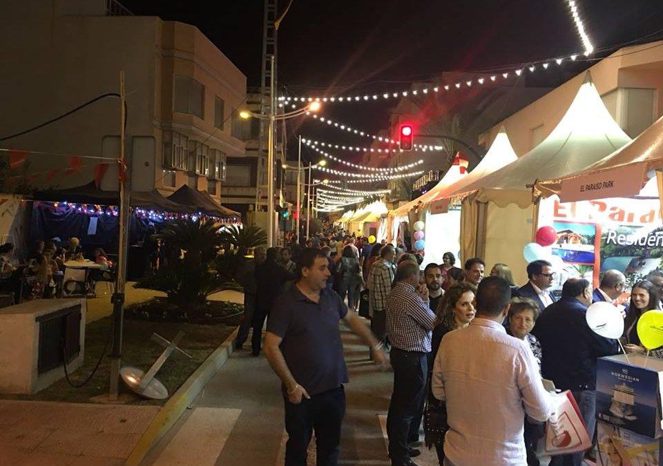 La Feria del Comercio de Albatera se consolida como uno de los mayores eventos del municipio con la asistencia de miles de visitantes