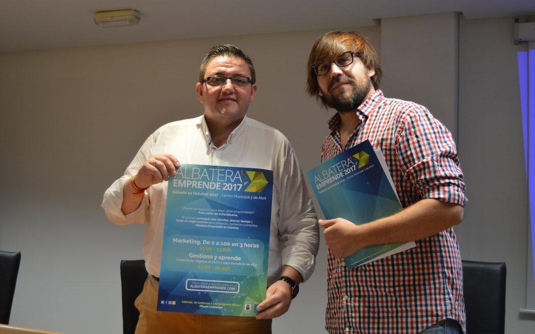 """Albatera celebra el próximo sábado 14 de octubre las II jornadas de """"Albatera Emprende"""" con el Marketing y la Gestión como protagonistas."""