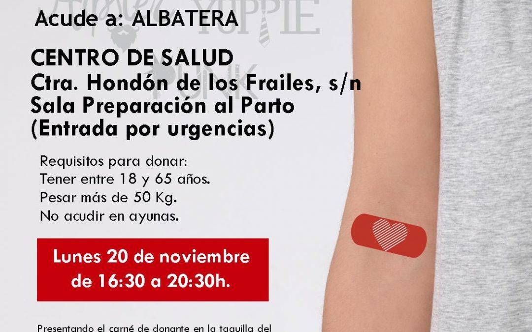 El lunes 20 de noviembre tienes cita con la solidaridad