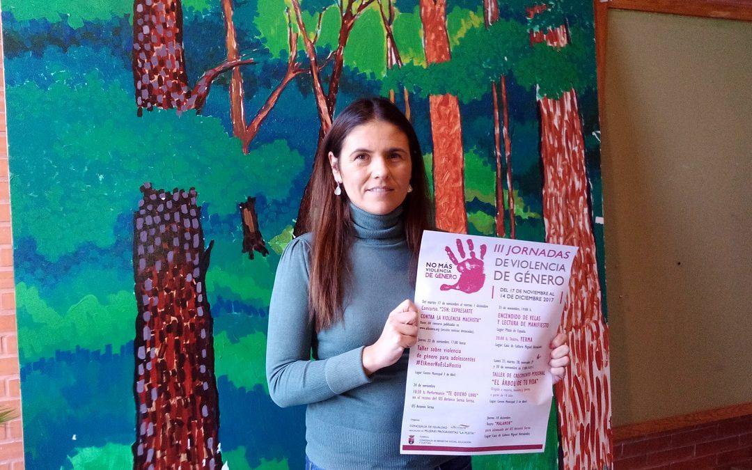 Albatera continúa su lucha contra la violencia machista y organiza las III Jornadas de la Violencia de Género
