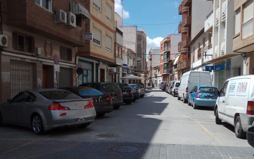 Albatera solicita una subvención a la Diputación Provincial para el arreglo de calles del casco antiguo