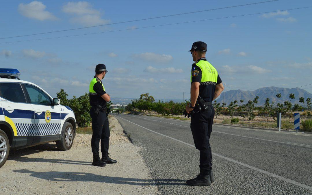 La Policía Local de Albatera concluye con éxito las patrullas rurales de la campaña de la breva