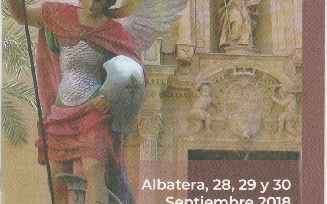 Albatera celebra este fin de semana las fiestas en honor a San Miguel Arcángel