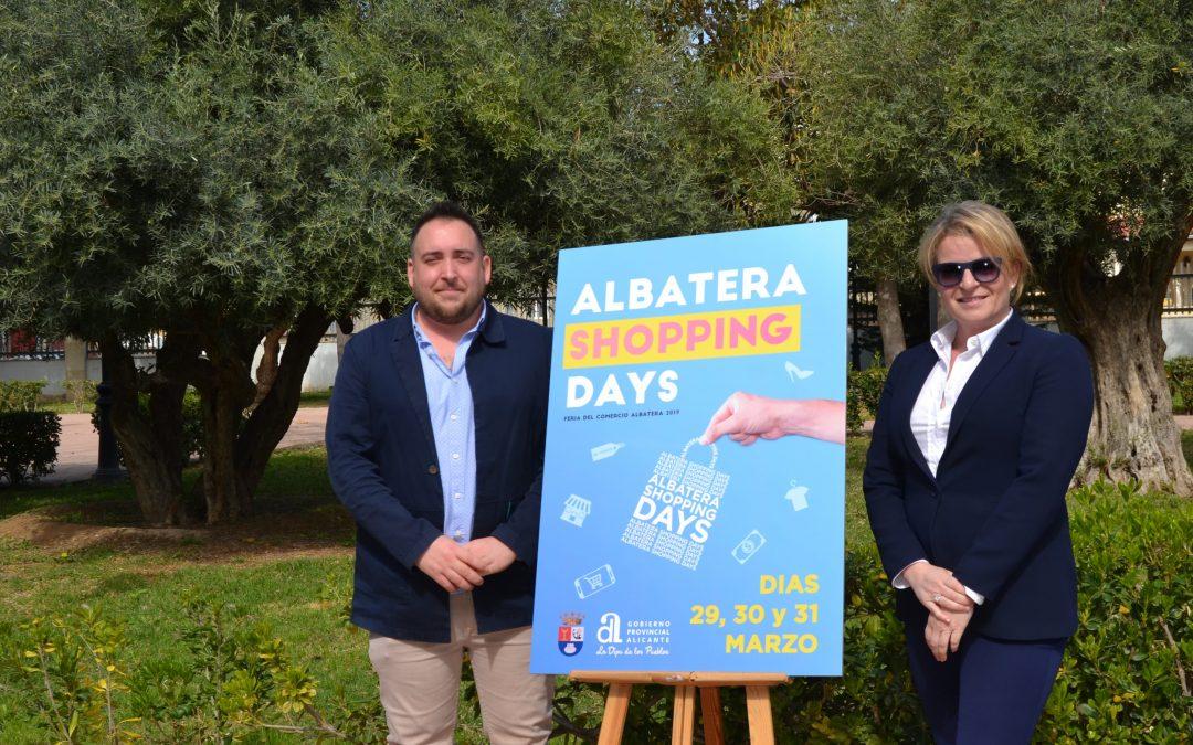 """La feria del comercio """"Albatera Shopping Days"""" llega el 29, 30 y 31 de marzo"""