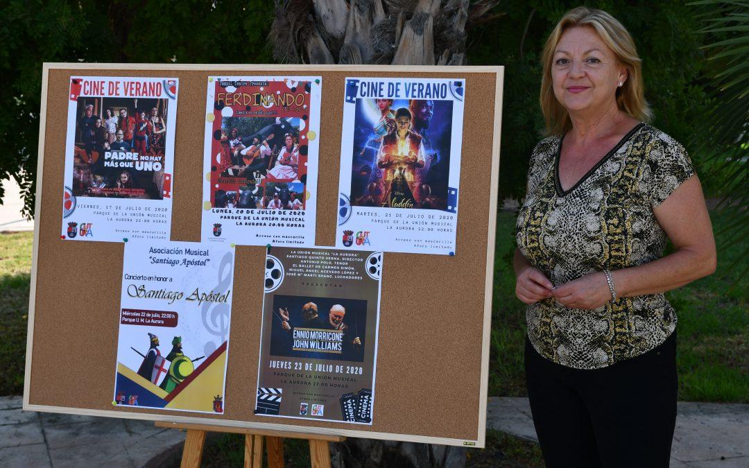 Albatera programa diversos actos culturales para celebrar sus fiestas patronales en honor a Santiago Apóstol