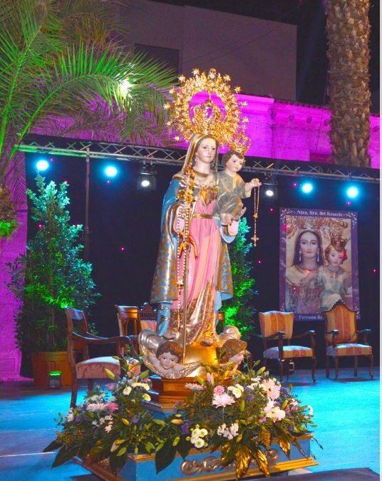 Fiestas en honor a la Virgen del Rosario 2020