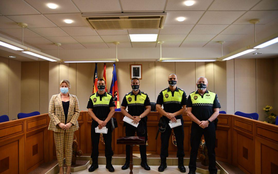 Albatera incorpora cuatro nuevos agentes a la plantilla de la Policía Local