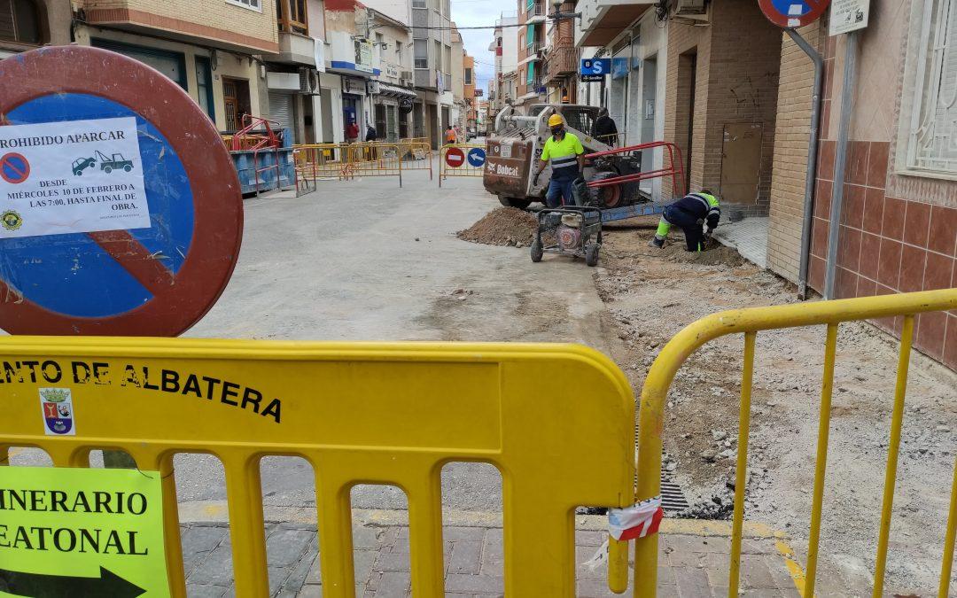 Comienzan las obras de mejora de infraestructuras y adecuación del viario en las calles del casco antiguo