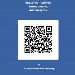 El Ayuntamiento de Albatera habilita un código QR para facilitar el sistema de cita previa