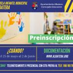 Educación inicia el plazo para la prematrícula de la Escuela Municipal Infantil de Albatera