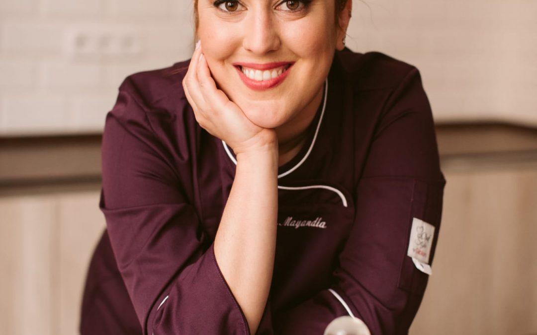 La chef, Blanca Mayandía, madrina de la Breva de Albatera 2021