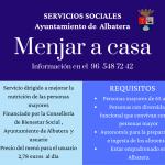 """Servicios Sociales ofrece el programa """"Menjar a casa"""""""