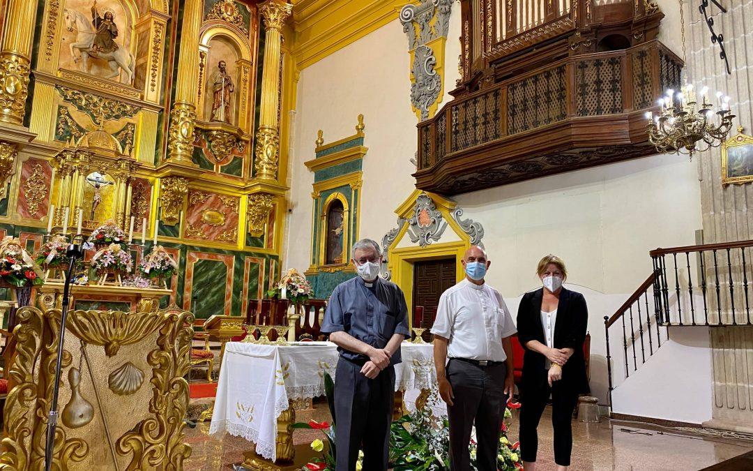 El Ayuntamiento de Albatera concede una subvención a la IglesiaSantiago Apóstol para la adquisición de un órgano