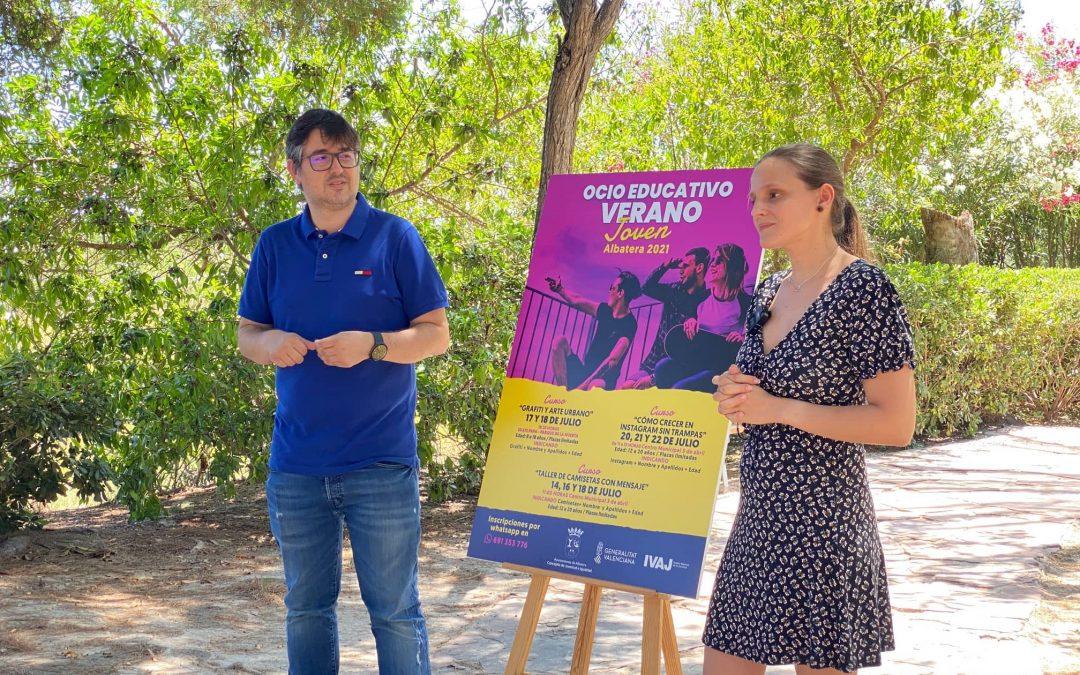 Presentación de las Jornadas Ocio Educativo Verano Joven 2021