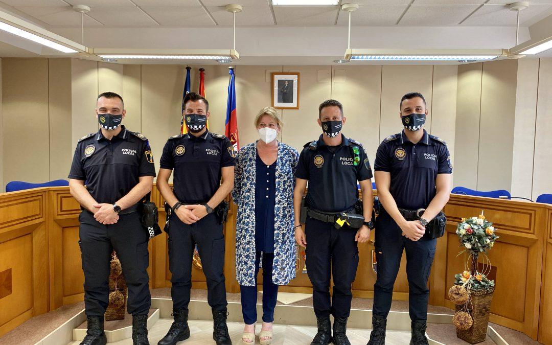 La plantilla de la Policía Local de Albatera coge estabilidad