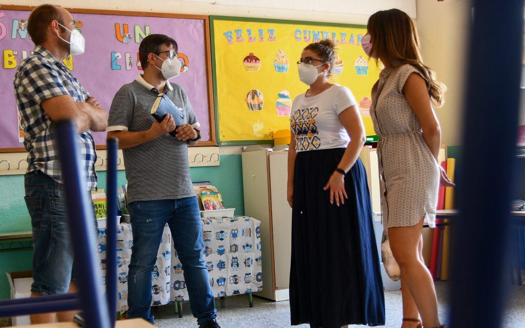 Un total de 2.105 alumnos/as comenzarán el curso académico en los cuatro centros educativos de Albatera