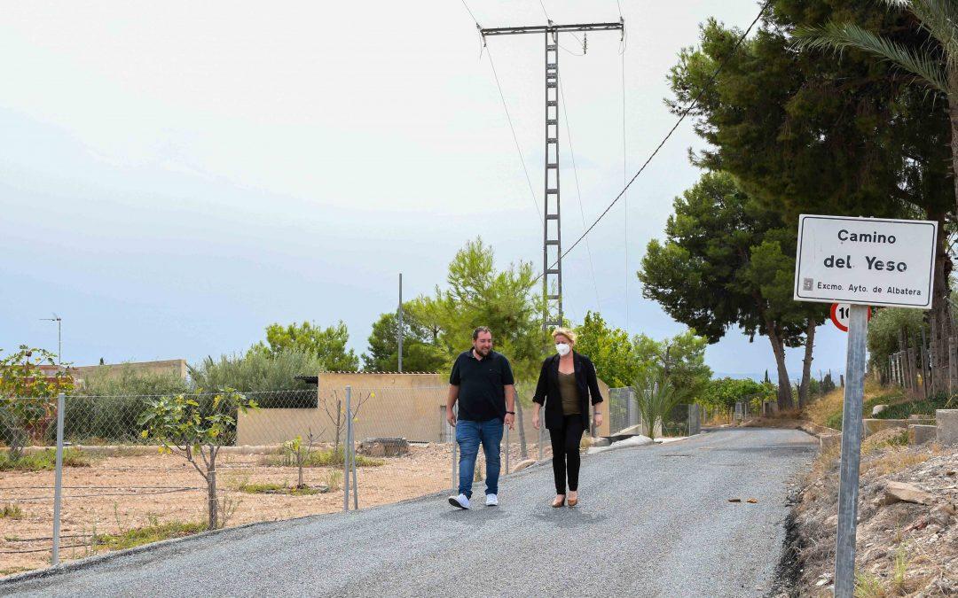 Albatera acondiciona caminos rurales por un importe de 296.836€