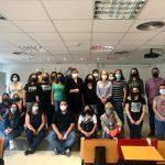 Ana Serna da la bienvenida a las alumnas y alumnos del taller de empleo «Virgen del Rosario VIII»